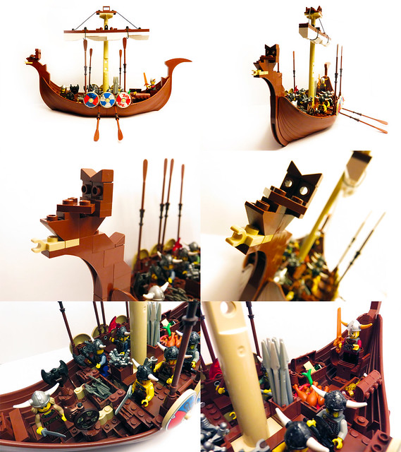 LEGO® MOC by Talex: Vikings ship