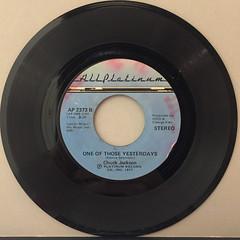 CHUCK JACKSON:I FELL ASLEEP(RECORD SIDE-B)