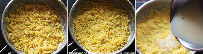 How to make Moong Dal Halwa - Step5