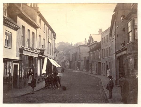 Tring_High_Street,_19th_century