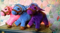 """Horse For up to a 16"""" Waldorf Doll, Custom Listing, Organic Velour, You pick Colors"""