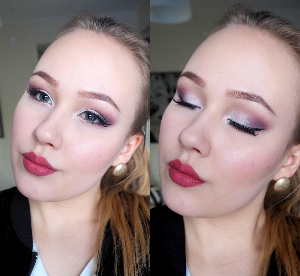 deep purple make up