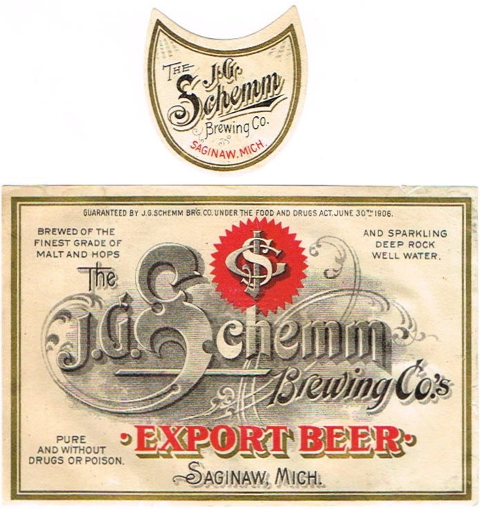 Export-Beer-Labels-The-JG-Schemm-Brewing-Co