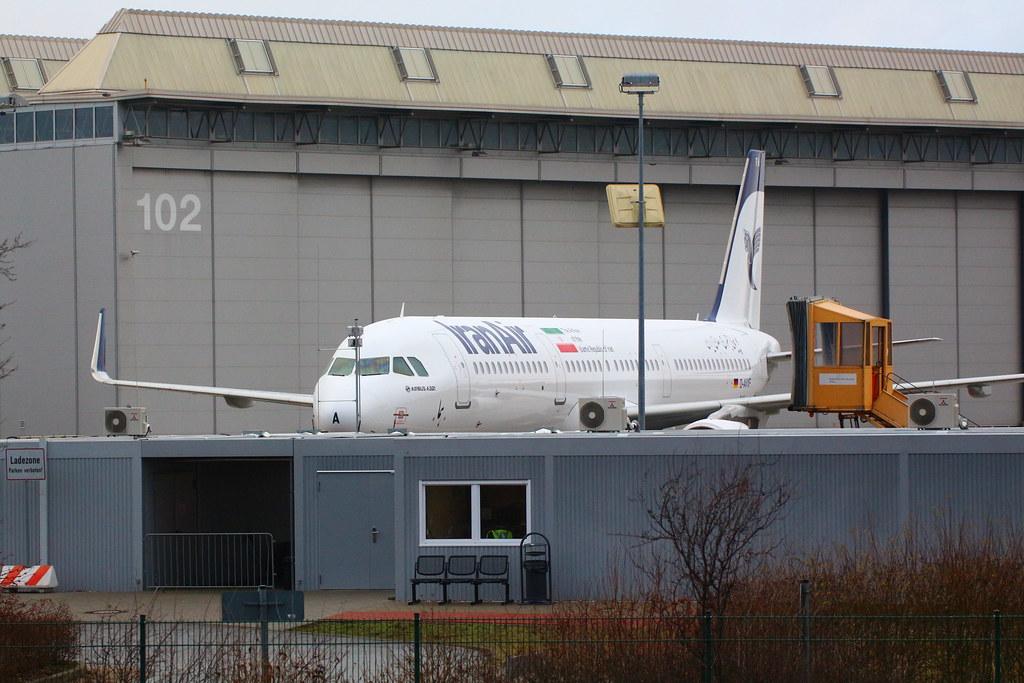A321 Iran Air EP-IFA
