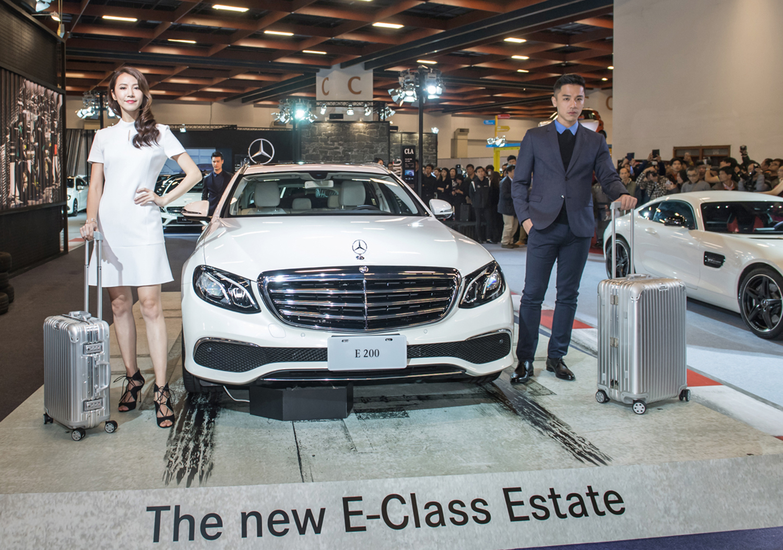 Mercedes-Benz連手德國精品Hugo Boss及Rimowa行李箱打造一場Modern Luxury的時尚大秀