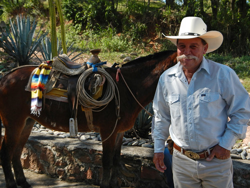Charros in the mountain village of Las Palmas de Arriba, a short drive from Puerto Vallarta