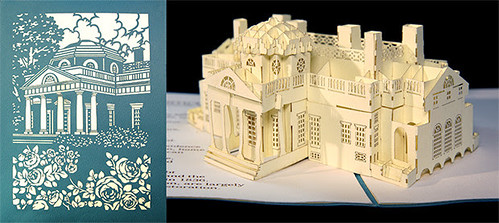 Monticello Legacy Pop Pop-up Card