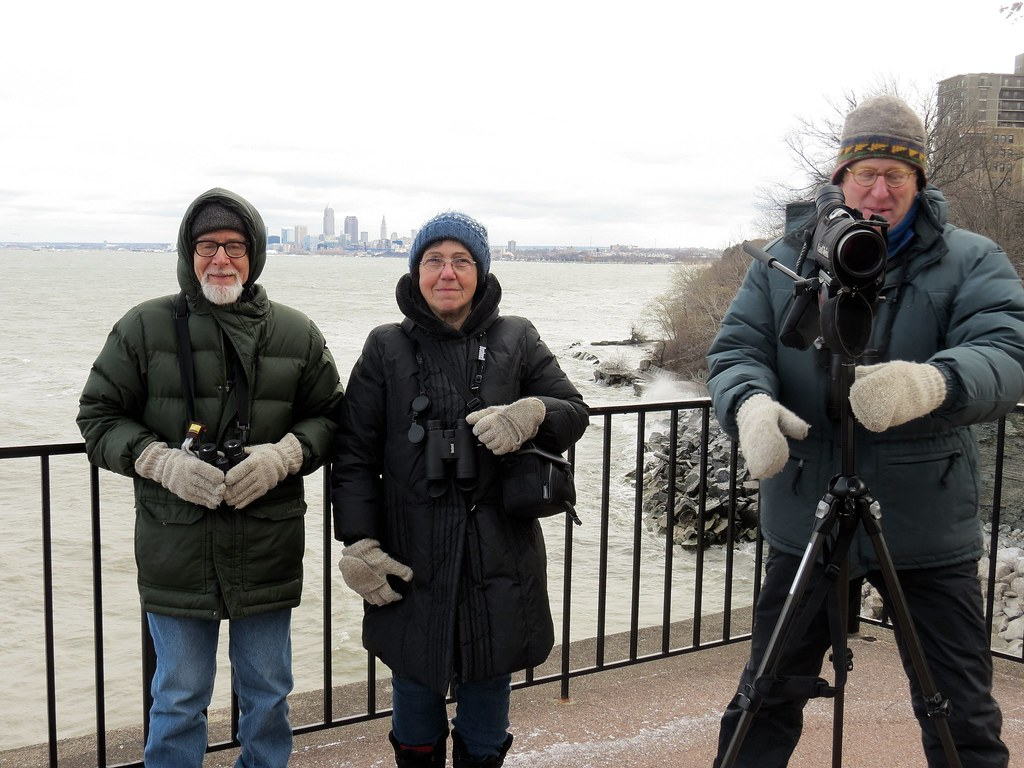 Christmas Bird Count-Lakewood Circle Birders. Photo by Anna Kozlenko