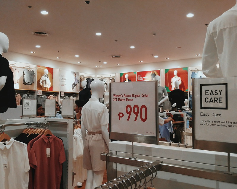 Uniqlo Fisher Mall Parkway Sale