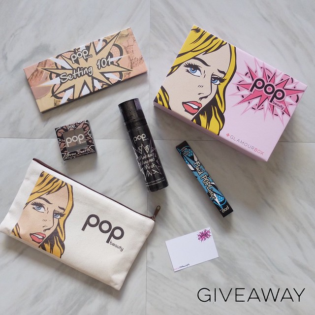 pop beauty giveaway