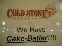 Cake Batter Ice Cream Cold Stone Gluten Free