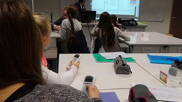 Utilisation des technologies numériques au collège Eugène Dubois