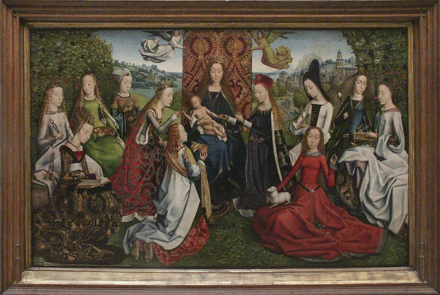 Scenes from the life of Saint Catherine, Catherine Legend of the Master, late 15th century