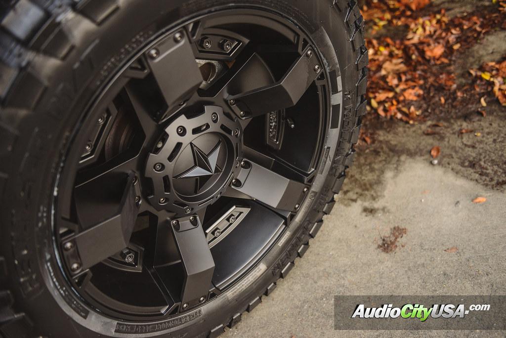 "2015 Ram 1500 Leveling Kit >> 2015 Dodge Ram 1500 | 20"" XD 811 Wheels Rockstar Satin ..."