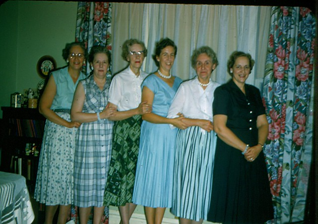 Hazel,Florence,Signe,Grace,Ruth,Melba