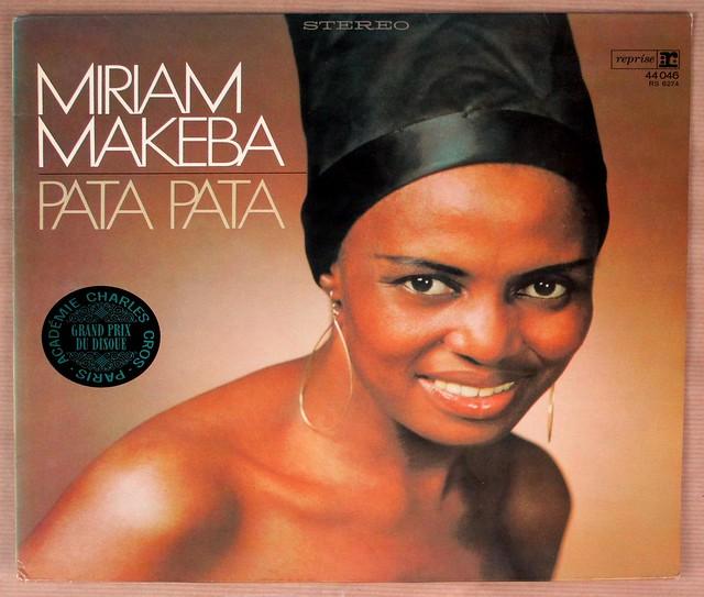 "MIRIAM MAKEBA PATA PATA 12"" LP VINYL"
