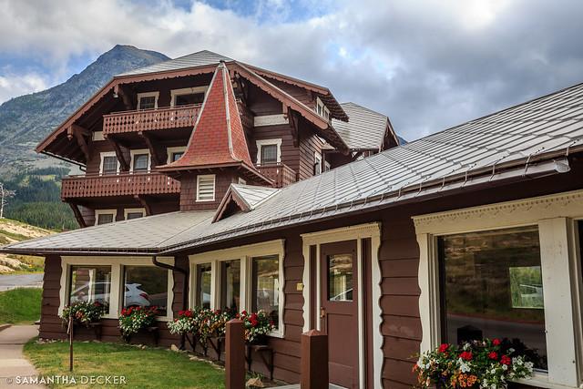 The Many Glacier Hotel