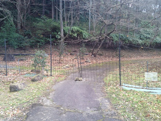 月見の森 獣避ゲート