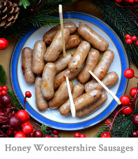 Honey & Worcestershire Cocktail Sausages