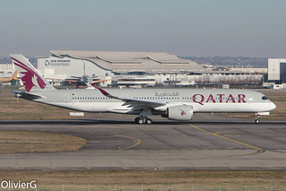 A350-941 Qatar Airways MSN042 F-WZGO (A7-ALM) - TLS
