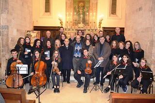 """Noicattaro. Concerto di Natale de """"Il Setticlavio"""" front"""