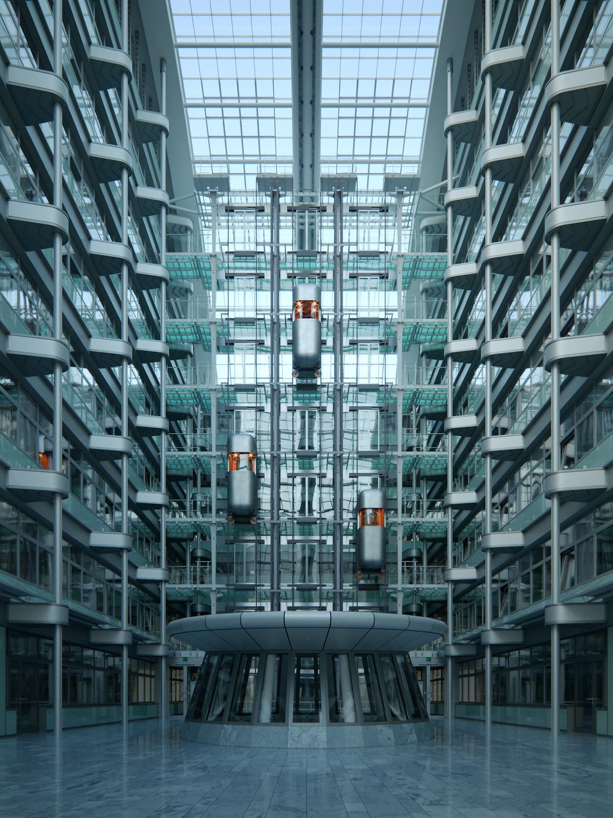 Futuristic Atrium