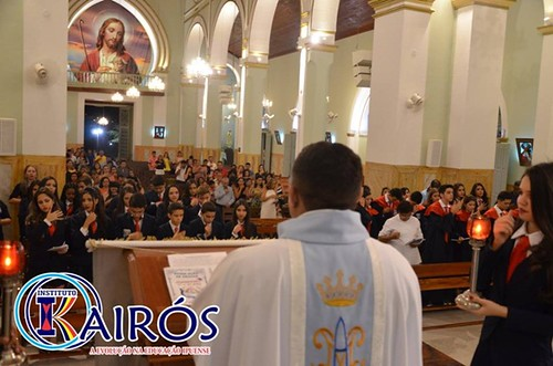 Com Missa solene, Instituto Kairós celebra o término de curso da segunda Turma de 3º Ano Médio e a conclusão da Turma de 9 º ano Ensino Fundamental