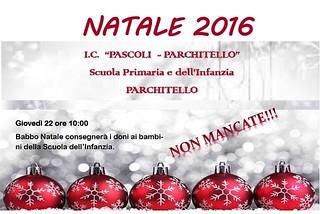 Noicattaro. Eventi Natale Pascoli-Parchitello front