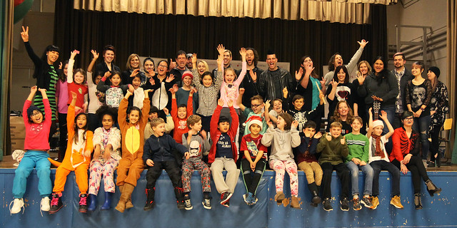 Marianas Trench visit Lord Selkirk Elementary