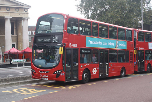 Arriva London North DW459 LJ61CDX