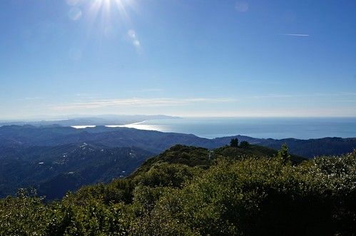 Looking South-Southwest from Mt. Tamalpais