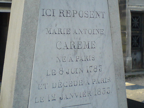 The Grave of Antonin Carême (2) | by clotilde
