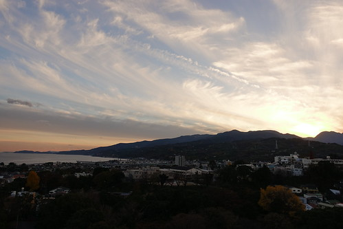 Odawara sky from Odawara castle tower 10