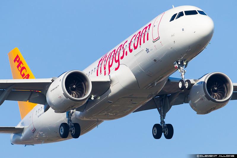 Pegasus Airbus A320-251N(WL) cn 7380 F-WWIV // TC-NBE