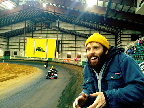 Elliott at the Williamston Track (Jan 8 2016)