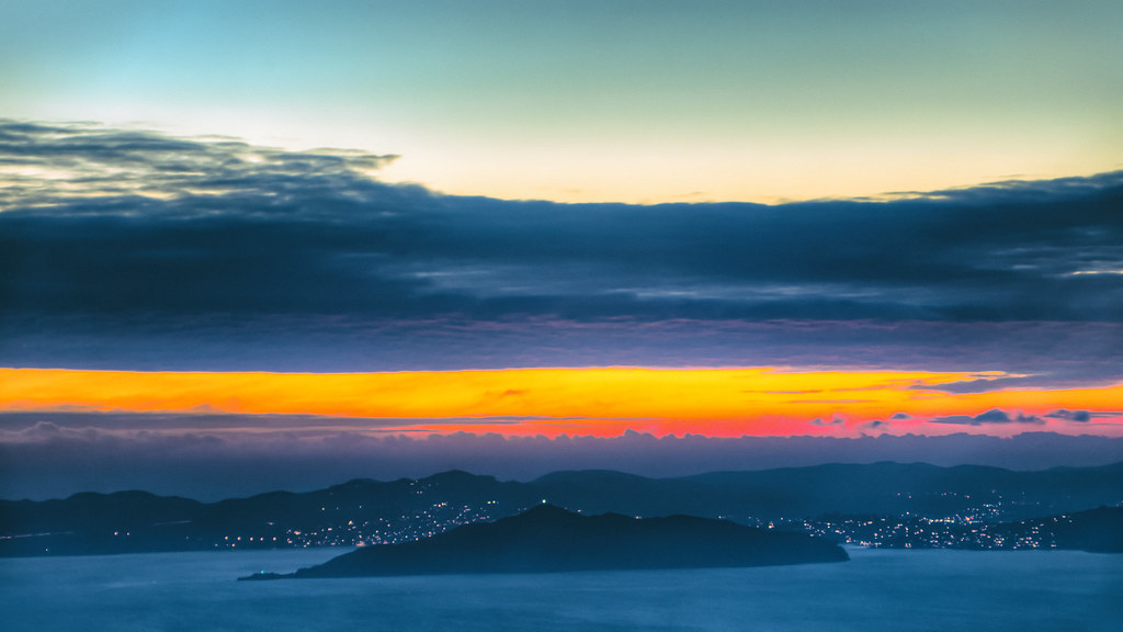 Angel Island Silhouette