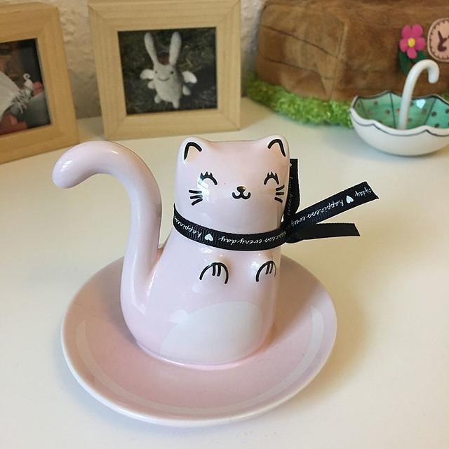 Oh K! Kitty trinket dish
