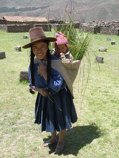 Andean woman with child | by quinet