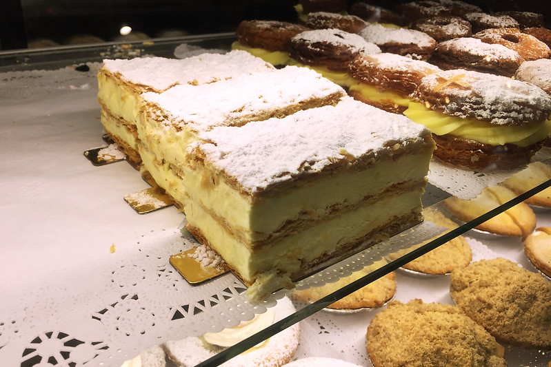 Vanilla slices, Glenorie Bakery