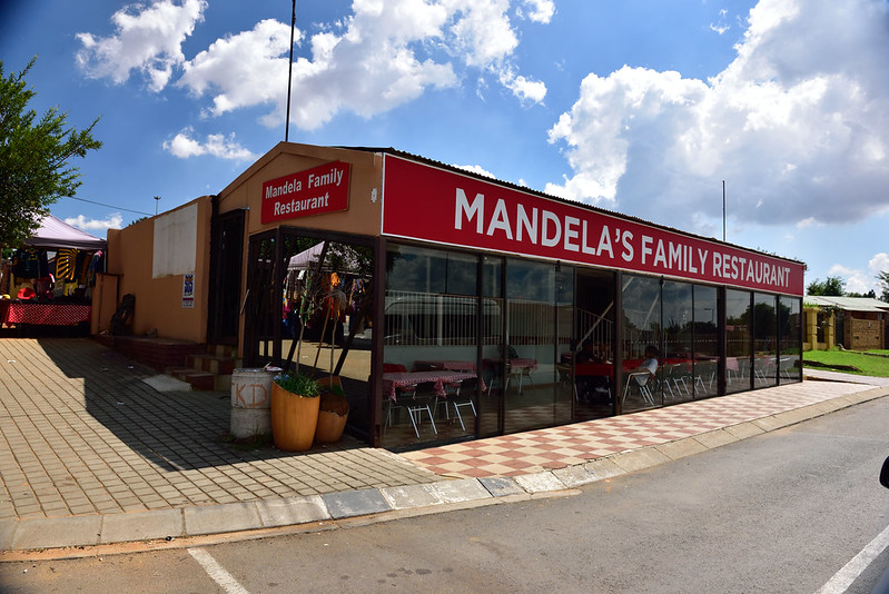 Mandela's Family Restaurant, Soweto, Gauteng, South Africa