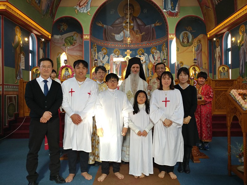Baptism in Ulsan 12/11/2016
