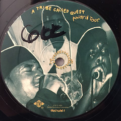 A TRIBE CALLED QUEST:AWARD TOUR(LABEL SIDE-B)