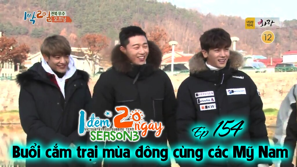 [Vietsub] 2 Days 1 Night Season 3 Ep 154