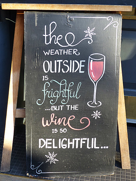 wine is so delightful ...