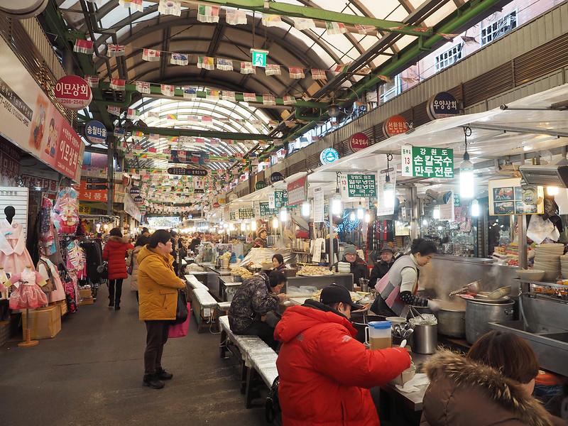 Gwangjang market 1