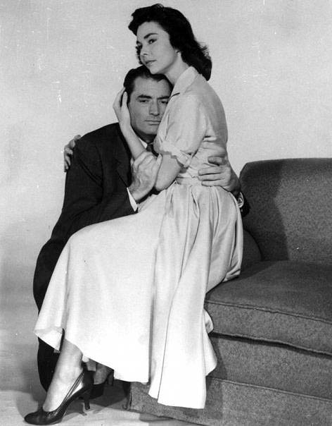 The Man in the Gray Flannel Suit - Promo Photo 2 - Gregory Peck and Jennifer Jones