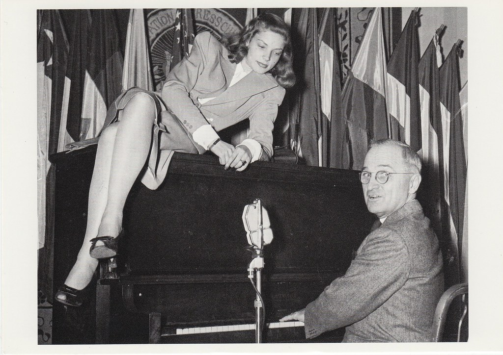 For Trade - Harry Truman and Lauren Bacall