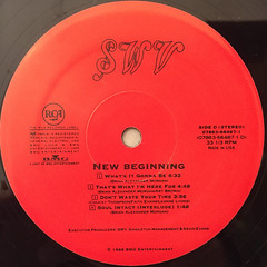SWV:NEW BEGINNING(LABEL SIDE-D)