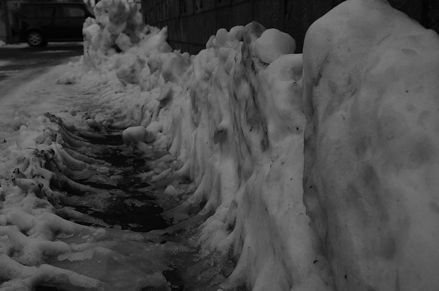 The Snow Cliff