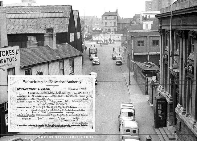 Art Street 1950's And the customary Employment Licence.